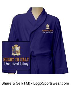 Rugby To Italy Luxury Plus Robe Design Zoom