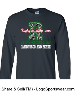 Zebre long sleeves Design Zoom