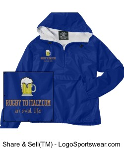 Rugby To Italy Solid Pullover Design Zoom