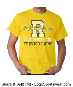 Treviso Lions yellow Design Zoom