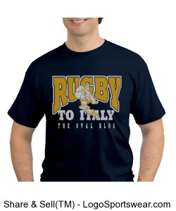 Rugby To Italy Blue oval blog Design Zoom